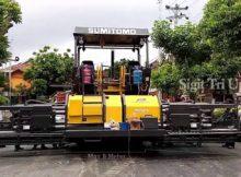 Alat Berat Mesin Aspal Pertama Tercanggih Di Indonesia Sumitomo HA90C