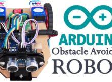 Arduino based Obstacle avoiding robot
