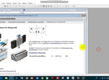 Belajar Pneumatik A+A- dengan 2 tombol