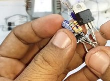 cara mudah membuat inverter 12 v to 220 v 52 hz