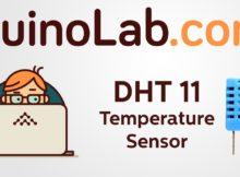 DuinoLab Starter Kit #10 : DHT11 Temperature Sensor