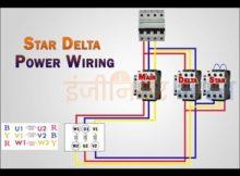 How to work star Delta starter. #star Delta daigram. #star Delta working principal.