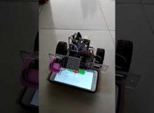 Mudah arduino smartphone robot