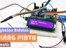 Prototype Rangkaian Palang Pintu Kereta Api Otomatis menggunakan Arduino