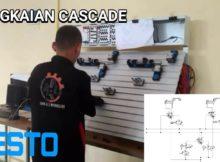 Rangkaian Cascade (B+ A– A+ B–) Dengan Trainer Festo Pneumatik