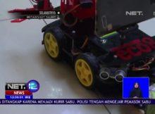 Robot Pembersih Sampah Diciptakan Oleh Siswa di Semarang   NET12