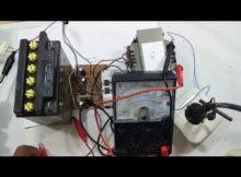 simple inverter 12 v to 220 v NE 555 + 4017