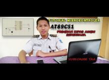 Tutorial Mikrokontroler at89c51 - program kipas angin sederhana - SMKN 1 JETIS