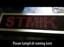 Papan Informasi Berbasis Web Server Controlled HTTP Request ( Arduino Ethernet Shield)