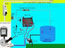 ScreenShot Sensor Ketinggian Air Untuk Pompa