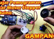 Tutorial Pemograman Dasar Menggerakan Motor Stepper – Belajar arduino gampang dan murah