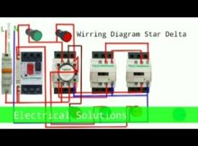 Wirring Diagram|Motor Star Delta