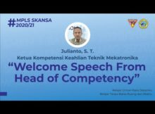 Sambutan Ketua Kompetensi Keahlian Teknik Mekatronika | MPLS MEKATRONIKA 2020